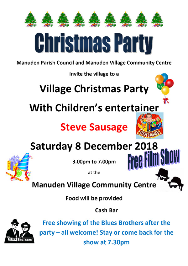 Village Christmas Party
